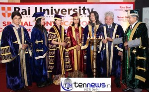 Rai University Honors Excellence in Convocation