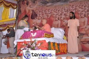 4 Day Ramkatha by Vijay Kaushal Ji Maharaj begins at Bhartiyam School Delta -1 Greater Noida.