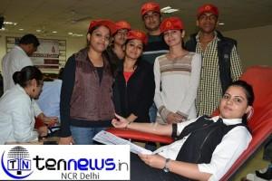 आईएमएस में रक्तदान शिविर का आयोजन
