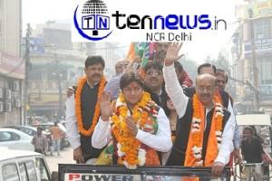 Goel files nomination from Model Town constituency, calls for change of regime in Delhi