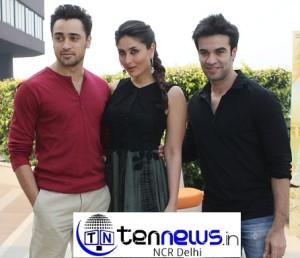 "Kareena & Imran promoted their film ""Gori Tere Pyar mein"" in Delhi"