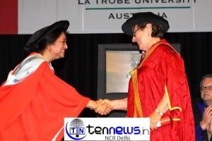 La Trobe University, Australia awarded honorary degree to Dr. Meenakshi Gopinath, Principal, Lady Shri Ram College