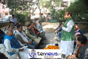 Vijender Gupta Holds Public Meetings with Government Employees