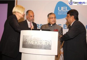 UNIVERSITY OF EAST LONDON LAUNCHED INDIA OFFICE IN COLLABORATION WITH SAHARA INDIA
