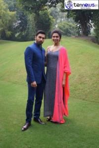 "Description: Ranveer & Deepika promoted their film""Ram-leela"" in the Capital"