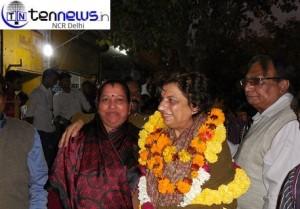 Delhi education minister and having won the Malviya Nagar