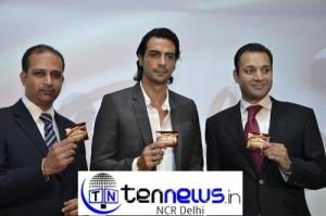 Mars, announced the launch of 'Galaxy' , chocolate brand in India - Arjun Rampal brand ambassador.