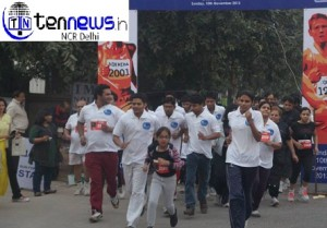 Run for health event in IMS Noida