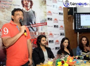 SATYA II PROMOTED BY RAM GOPAL VERMA AND STAR CASTS - IN NEW DELHI