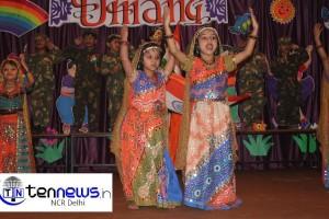 "UKG students of Nirmala Kids' Care (Ursuline Convent Sr. Sec. School) celebrated annual day ""Umang 2013"""