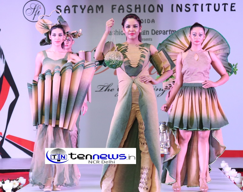 Budding Designers Of Satyam Fashion Institute Showcased The Spirit Of Women Power On The Ramp Tennews In National News Portal Breaking News Live News Delhi News Noida News National News Politics