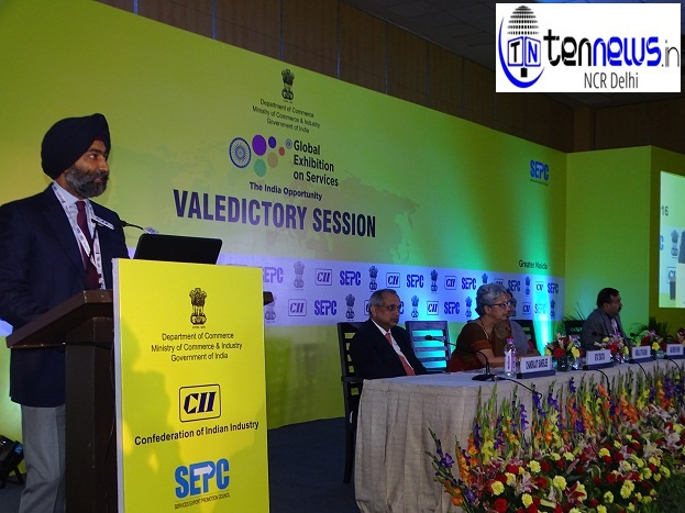 MALVINDER M SINGH CII ON SERVICE TAX AND GLOBAL EXHIBITION