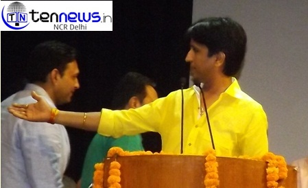 KUMAR VISHWAS WON HEARTS OF PEOPLE BY HIS HEART TOUCHING