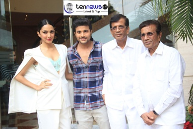 "Abbas-Mustan promoted his film ""Machine"" with Cast in Delhi"