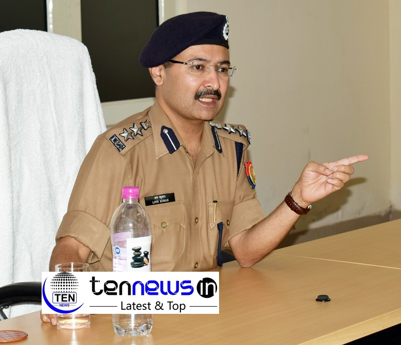 SSP Love Kumar : The IPS Officer with a difference! - tennews in