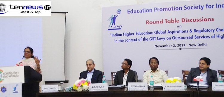 PHOTO HIGHLIGHTS OF EDUCATION PRIMOTION SOCIETY FOR INDIA ROUND TABLE ON INDIAN HIGHER EDUCATION