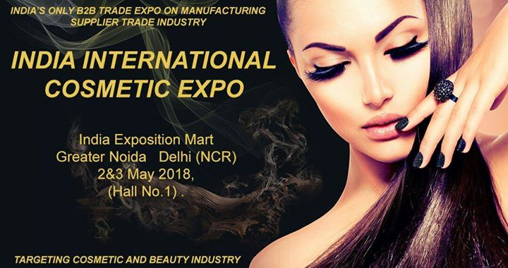 India Expo Mart Greater Noida to host International Cosmetic