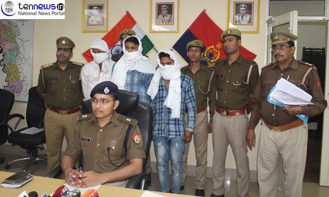 क्रिकेट खेलते हुए आपसी विवाद में रिजवान की हत्या के तीन मुख्य आरोपितों को पुलिस ने दबोचा
