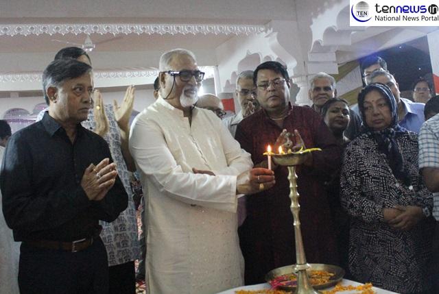 Photo Highlights of Durga Puja Pandal inauguration at Greater Noida Kali Bari