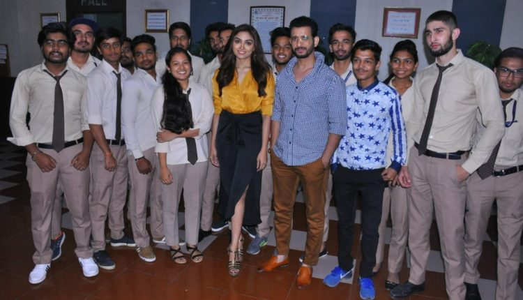 """Upcoming movie """"Kaashi"""" cast arrived in Greater Noida for promotion"""