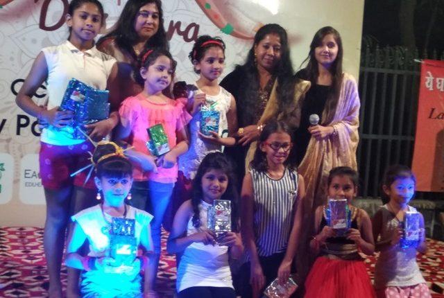 दशहरा फेस्ट में बच्चों ने डांस और संगीत के हुनर से लोगों को किया प्रभावित