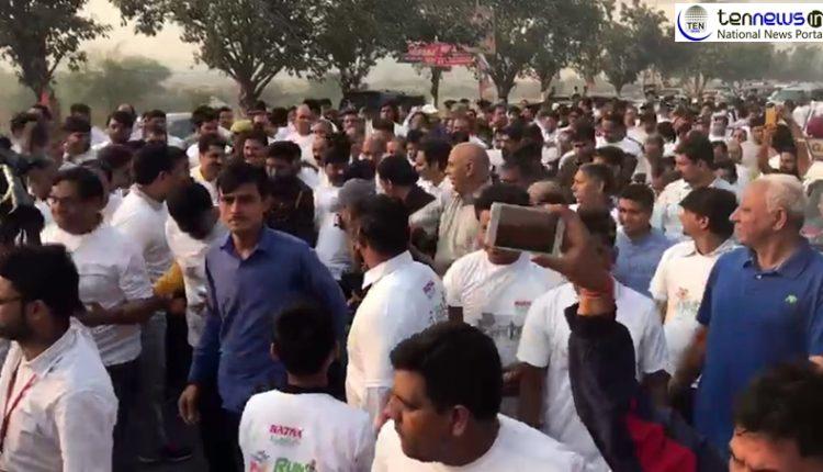 Noida: Run for Unity organised on the occasion of Sardar Vallabhbhai Patel's birth anniversary
