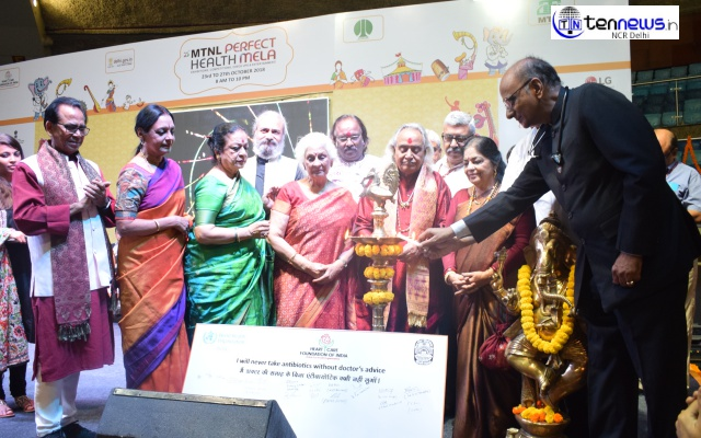 Heart Care Foundation of India flags off the 25th MTNL Perfect Health Mela