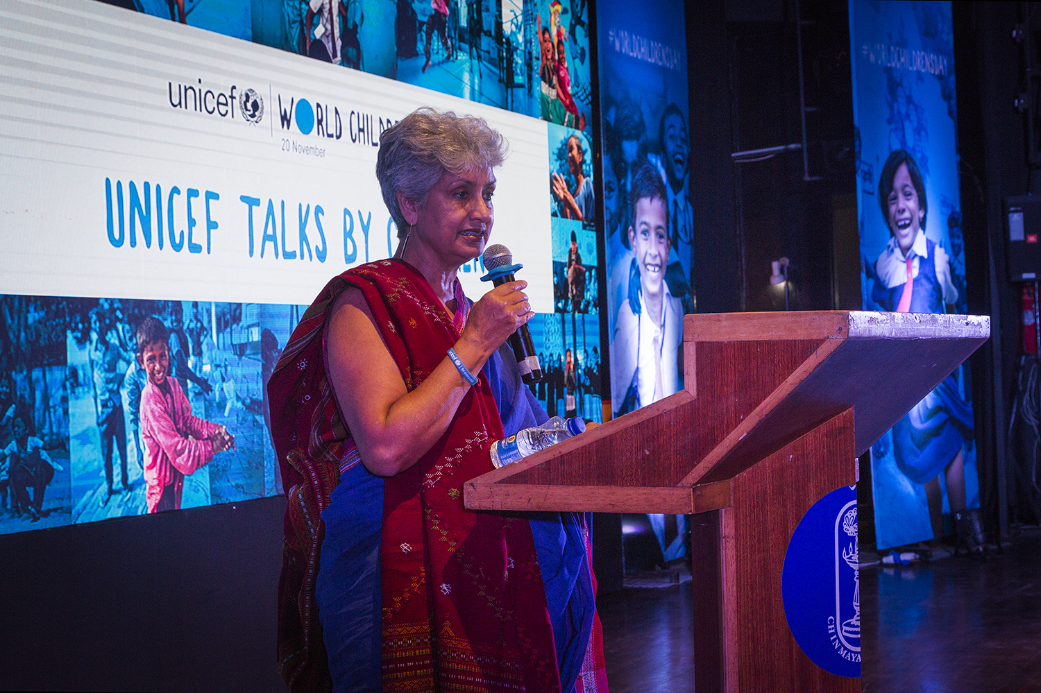 Dr.Yasmin Ali Haque, UNICEF India Representative spoke at the interaction with Parliamentarians for World Children's Day