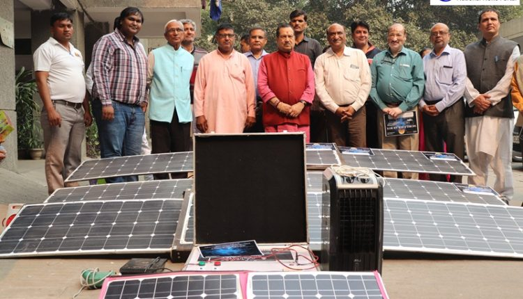 RSS Leader Indresh Kumar Launches Aton Group's New Solar Products In Delhi!