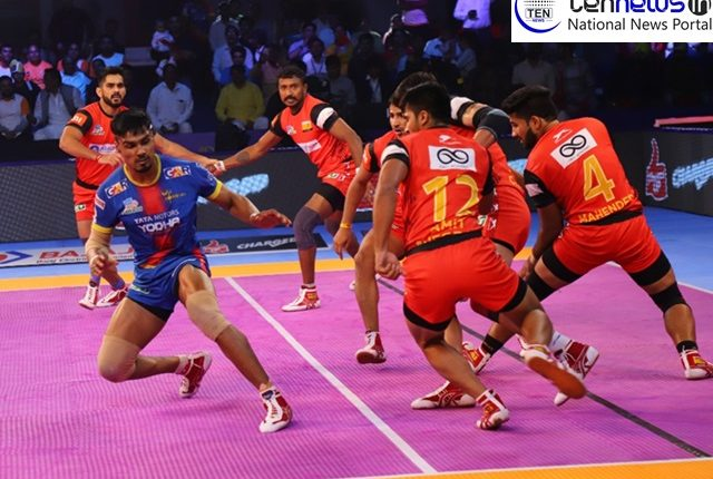 PKL 2018-19: Bengaluru Bulls comes from behind to beat UP Yoddha 35-29