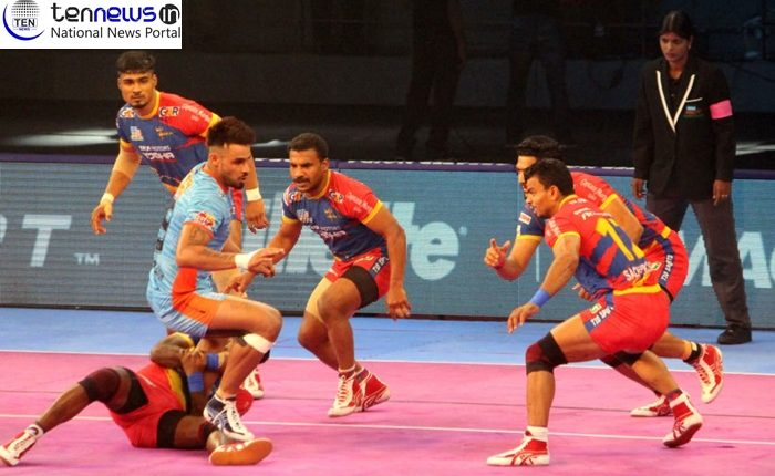 Pro Kabaddi League: U.P. Yoddha and Bengal Warriors Match ends with a tie