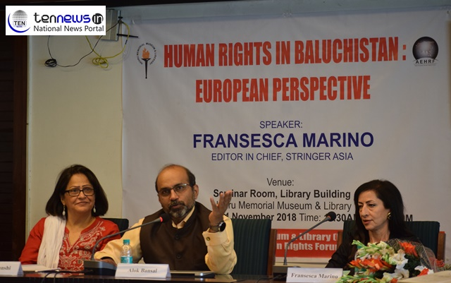 Human Rights Violation in Baluchistan reaching to its peak- Italian Journalist shares shocking tales