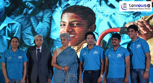 Good students make for good schools and supportive schools, says Sachin Tendulkar on World Children's Day