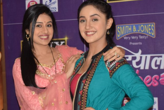 Paridhi Sharma and Ashnoor Kaur Promotes Upcoming Sony TV Show 'Patiala Babes' in Delhi