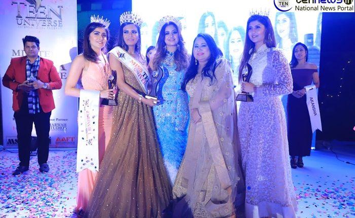 Apurva  Thakur is Miss Teen Universe India 2019