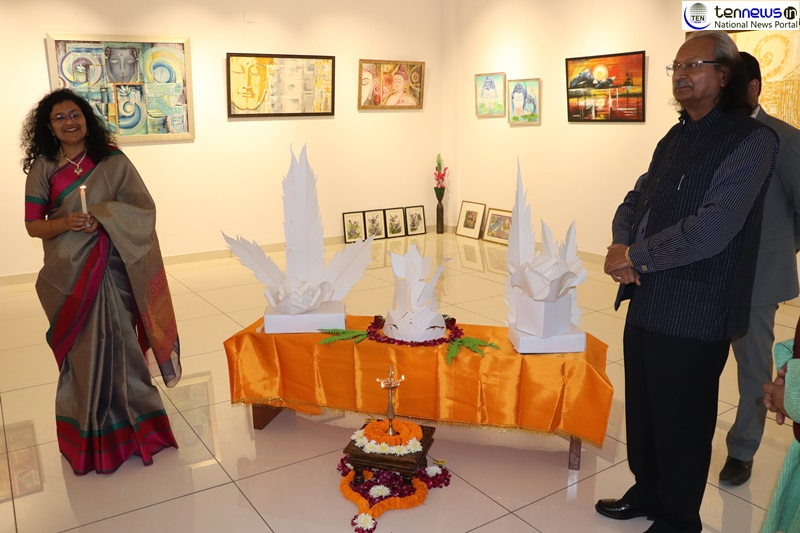 Pinting Exhibition In Noida By Varsha Keshavrao Lad