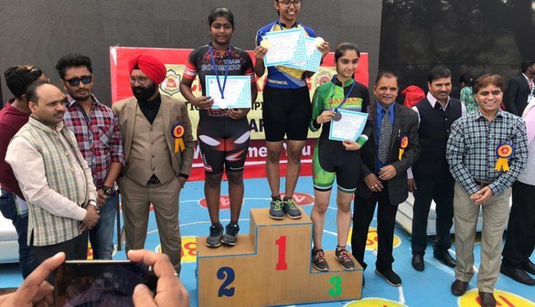 Palak Singh of Ryan Greater Noida National Winner at CBSE Skating