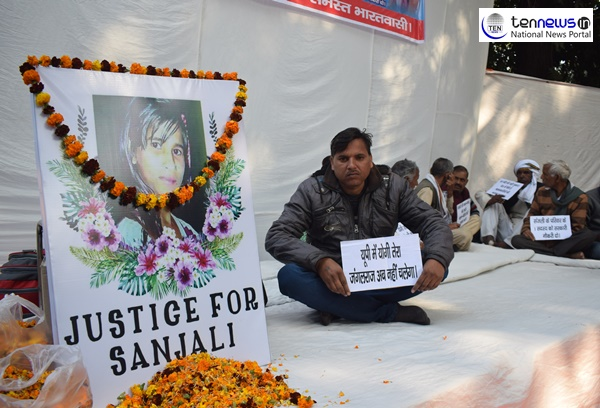 """""""Sanjali, our 14 year old girl who died struggling with her burnt body should be provided with justice"""", says the family members of Sanjali"""