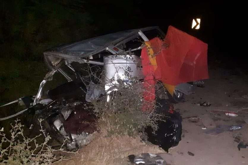 12 killed after head-on collision between two cars in ...