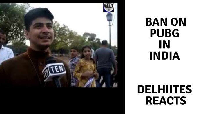 Delhiites React On Recent Pubg Ban In India Tennews In National - delhiites react on recent pubg ban in india