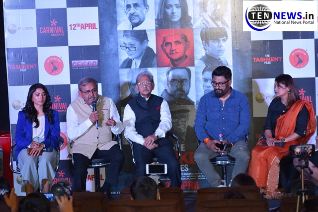 Trailer of 'The Tashkent Files' launched in Delhi, based on the