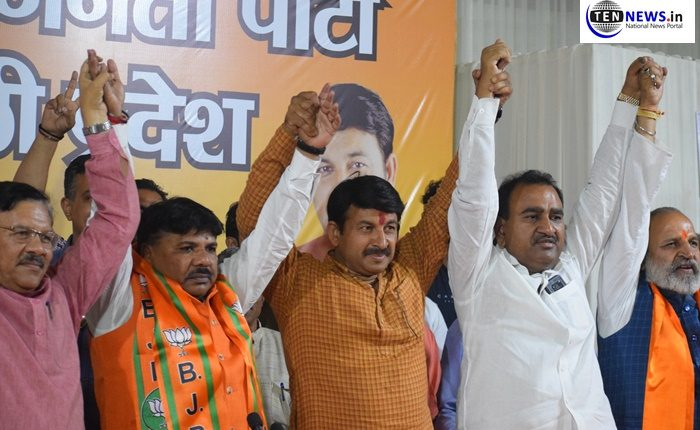 Setback to Congress, Bhisham Sharma, Ex-Congress MLA from Ghonda assembly in Delhi Joins BJP