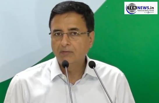 Congress's Randeep Surjewala Slams BJP, questions timing of MHA's notice to Rahul Gandhi