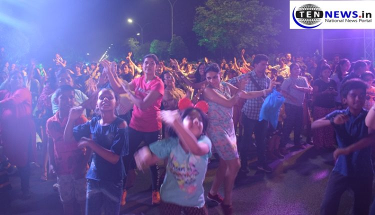 """""""Sunset Raahgiri"""" Organized for the 4th time In Noida, Fun Activities Kept People Upbeat"""
