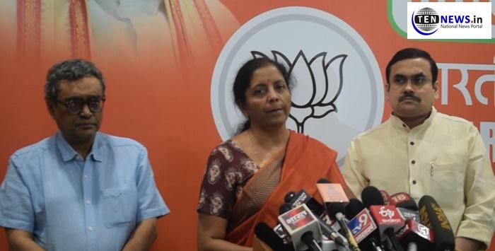 Nirmala Sitharaman mounts an attack on TMC, Demands CRPF in Bengal until MCC observation period