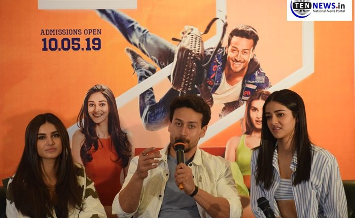 Student of the Year 2 Starcast, Tiger Shroff, Tara Sutaria and Ananya Pandey Promotes their film in Delhi!