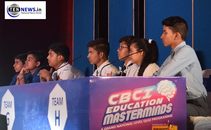1400 schools participated in CBCI Education MasterMinds Quiz competition