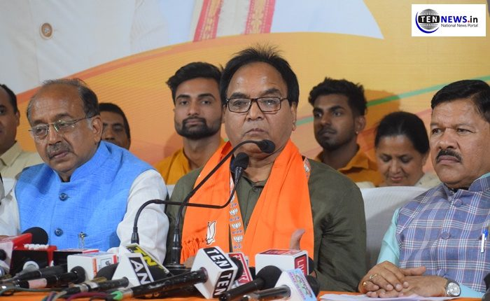 AAP MLA Anil Kumar Bajpai joins BJP ahead of Lok Sabha polls