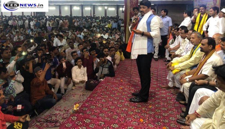 Manoj Tiwari thanks BJP workers, sets 2020 Delhi elections as new target