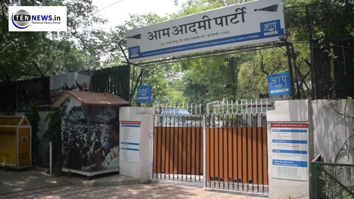 दिल्ली की सात सीटों पर बीजेपी को मिली बढ़त , आप पार्टी के कार्यालय में सन्नाटा